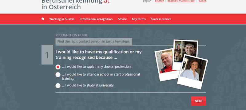 Online guide to having professional qualifications recognized